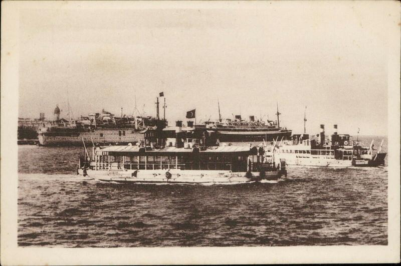 Port Said Ferry boat Fort Fouad shipping