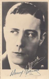 Henry Garat Antique Hand Signed Photo