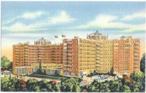 The Shoreham Hotel, Connecticut & Calvert St, Washington, DC, Linen