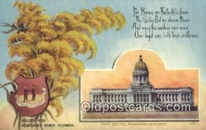 Frankfort, Kentucky, KY State Capital, Capitals Postcard Post Card USA  Frank...