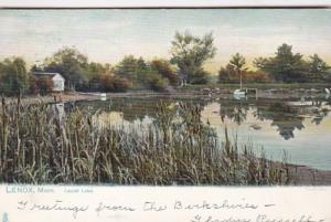 Massachusetts Lenox Scene On Laurel Lake 1910 Tucks
