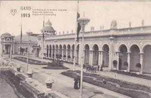 Belgium Gent Gand Expo 1913 Les Halles de la Section Anglaise