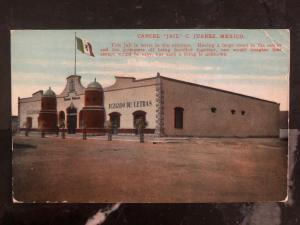 1915 Belfast ME USA Picture Postcard Cover C Juarez Mexico Jail