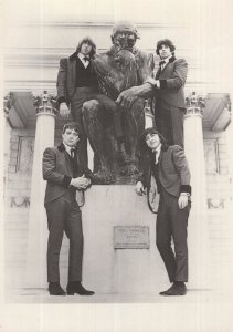The Beau Brummels Rock Group in San Fransisco 1965 Postcard