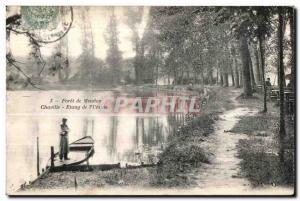 Old Postcard Foret Meudon Chaville Pond I Ursine