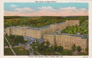 Indiana French Lick The French Lick Springs Hotel Curteich