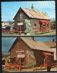 (2) Yukon WHITEHORSE Log MacBride Museum Depicting the History - pm1976 - chrome