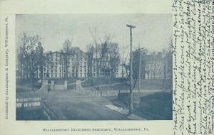 Williamsport Dickinson Seminary , WILLIAMSPORT , Pennsylvania ,PU-1905