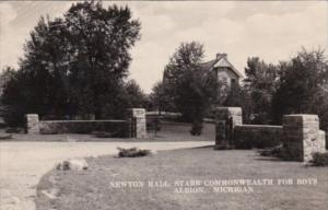 Michigan Albion Newton Hall Starr Commonwealth For Boys 1951 Real Photo
