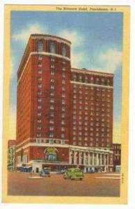The Biltmore Hotel, Providence, Rhode Island, PU-1943