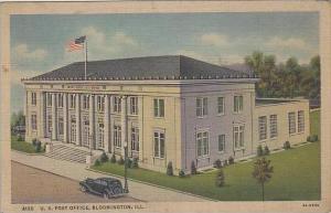 Illinois Bloomington US Post Office