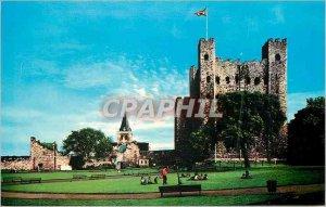 Modern Postcard Rochester Castle