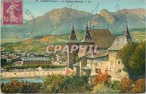 Postcard Old Albertville Le Chateau Manual