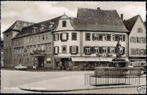 germany, BAD MERGENTHEIM, Mörikehaus, Hotel Hirsch 60s