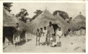 CPA Sénégal Afrique Dakar - Famille Ouoloff (68064)