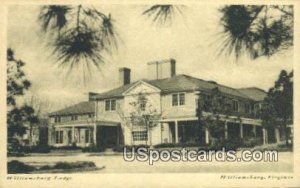 Williamsburg Lodge - Virginia