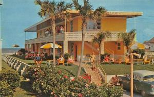 Daytona Beach FL The Deauville Beach Motel Postcard