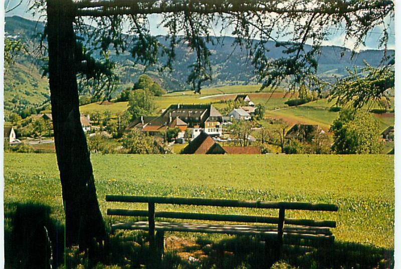 Postcard New Zealand Hotel Gasthof Zum Engel Farm Scene Free Shipping  # 2373A