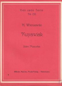 Kuyawiak Mazurka Henri Wieniawski Norway 1960s Piano Sheet Music