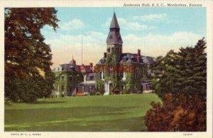 ANDERSON HALL, K. S. C., MANHATTAN, KANSAS