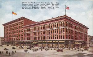 Colorado Denver The Denver Dry Goods Company Department Store