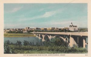 SASKATOON , Sask. , Canada , 10-30s ; View from Nutana