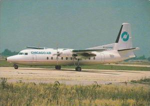 Chicago Air Fokker F27 Mk500 Chicago Air N241MA
