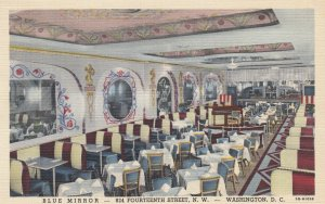 WASHINGTON D.C. , 1930-40s ; Blue Mirror Restaurant