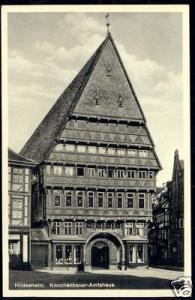 germany, HILDESHEIM, Knochenhauer Amtshaus (1933)