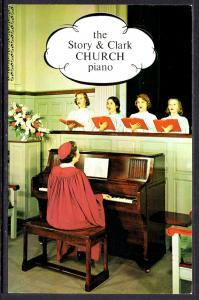 The Story and Clark Church Piano,Advertising