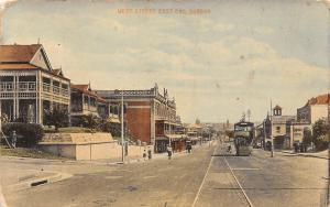 South Africa, Durban, West Street East End, tram, railroad