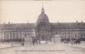 France Paris Hotel des Invalides Entree Principale