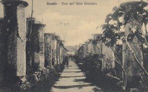 RAVELLO, Salerno, Campania, Italy; Viale dell Hotel Belvedere, 1900-10s
