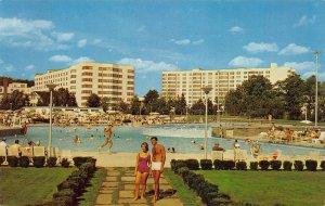 The Concord Hotel, Kiamesha Lake, N.Y., Unused Postcard