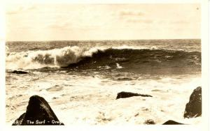 OR - Surf along the Coast   *RPPC