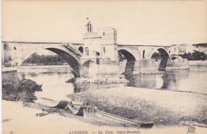 AVIGNON , France , 00-10s : Le Pont Saint-Benezet