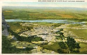 NE - Badlands from the top of Scott's Bluff