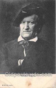 Richard Wagner Unused tab markings from being in album