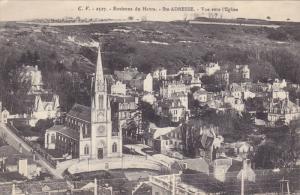 SAINTE-ADRESSE,  Seine Maritime, France, 00-10s Vue vers l'Eglise
