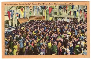 Lake Winnipesaukee, N.H., Winnipesaukee Garden's Ball Room, The Weirs