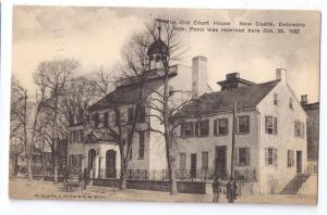 New Castle Delaware DE Old Court House Albertype 1935