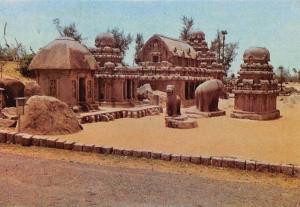India Mahabalipuram Tamilnadu Statues