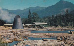 A Northwest Sawmill And Log Pong By L. L. Perkins, 1940s to Present