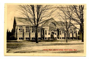 MA - South Hadley. Mt Holyoke College, Library