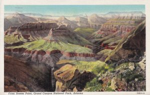 Arizona Grand Canyon National Park From Breeze Point 1941 Curteich
