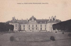 COTE D'OR, France: Chateau de FONTAINE-FRANCAISE, 1900-10s