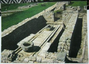 England Housesteads Fort Latrines Hadrians Wall Northumberland - unposted