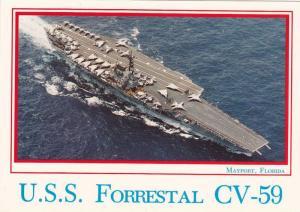 U.S.S. Forrestal CV-59,  U.S. Naval Station,  Mayport,  Florida,  50-70s