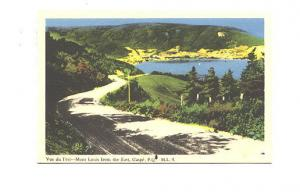 Mont Louis from the East, Gaspe, Quebec,