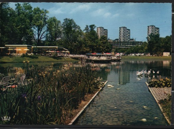 Post Card Stuttgart Germany Unterer Anlagensee